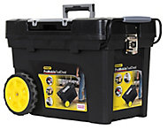 """Stanley 24"""" Plastic 4 compartment Tool chest"""