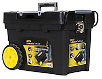 "Stanley 24"" Plastic 4 compartment Tool chest"