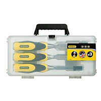 Stanley 3 Piece Chisel set