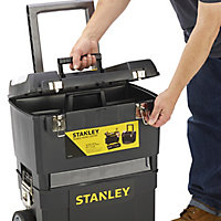 Stanley 4 compartment Mobile work centre