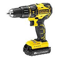 Stanley FatMax 18V 2Ah Cordless Combi drill KFMCD628D2K-GB