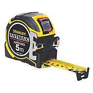 Stanley FatMax Autolock Tape measure, 5m