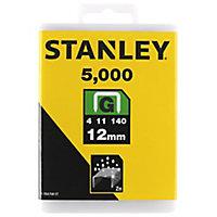 Stanley Heavy duty Staples (H)11mm, Pack of 5000