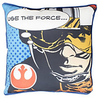 Star Wars Darth Vader Cushion, Black & red