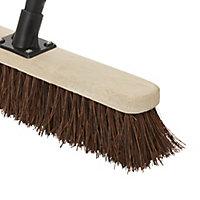 Stiff Bassine Indoor & outdoor Broom, (W)450mm