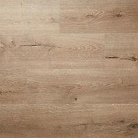 Stoke Natural Gloss Oak effect Laminate Flooring Sample