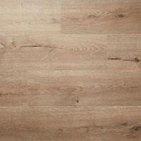 Stoke Natural Oak effect High-density fibreboard (HDF) Laminate Flooring Sample
