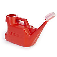 Strata Red Plastic Watering can 7L