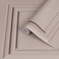Superfresco Easy Blush Panel Wood effect Smooth Wallpaper