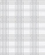 Superfresco Easy Country tartan Grey Metallic effect Embossed Wallpaper