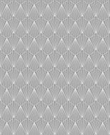 Superfresco Easy Deco Geometric Metallic effect Embossed Wallpaper