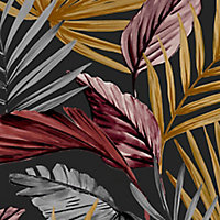 Superfresco Easy Flow Multicolour Leaves Smooth Wallpaper