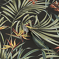 Superfresco Easy Sterlitzia Multicolour Leaves Smooth Wallpaper