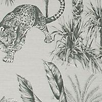 Superfresco Easy Zanzibar Green Tree Textured Wallpaper