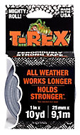 T-Rex Grey Duct Tape (L)9.14m (W)25mm