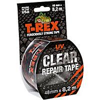 T-Rex Transparent Cloth Tape (L)8.2m (W)48mm