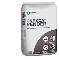 Tarmac One coat Ready mixed Render, 25kg Bag