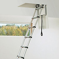 Telesteps 9 Section 9 Tread Telescoping Loft ladder