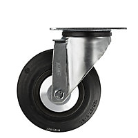 Tente Zinc-plated Swivel Castor, (Dia)125mm (Max. Weight)100kg