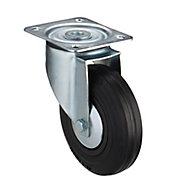 Tente Zinc-plated Swivel Castor, (Dia)125mm (Max. Weight)100kg