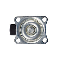 Tente Zinc-plated Swivel Castor, (Dia)38mm (Max. Weight)25kg