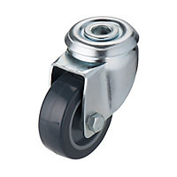 Tente Zinc-plated Swivel Castor, (Dia)50mm (Max. Weight)40kg
