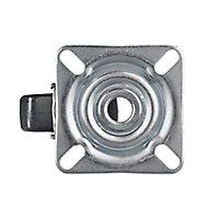 Tente Zinc-plated Swivel Castor, (Dia)50mm (Max. Weight)40kg