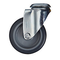 Tente Zinc-plated Swivel Castor, (Dia)75mm (Max. Weight)60kg
