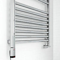 Terma Chrome effect 600W Enamel heating element