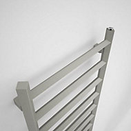 Terma Crystal 411W Sparkling gravel Towel warmer (H)1200mm (W)500mm