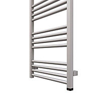 Terma Fiona 400W Electric Sparkling gravel Towel warmer (H)1140mm (W)480mm