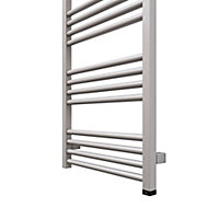 Terma Fiona 600W Electric Sparkling gravel Towel warmer (H)1380mm (W)480mm