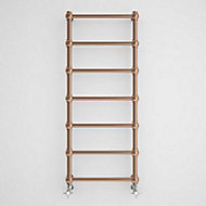 Terma Retro 216W Galvanic old copper Towel warmer (H)1170mm (W)504mm