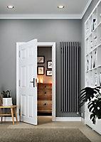Terma Rolo room Vertical Electric designer Radiator, Modern grey (W)480mm (H)1800mm