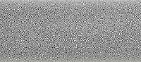 Terma Rolo room Vertical Electric designer Radiator, Salt n pepper (W)370mm (H)1800mm