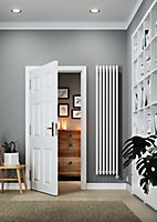Terma Rolo room Vertical Electric designer Radiator, White (W)370mm (H)1800mm