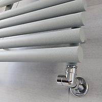 Terma Rolo Towel Salt & Pepper Towel warmer (H)755mm (W)520mm