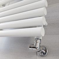 Terma Rolo Towel White Towel warmer (H)755mm (W)520mm