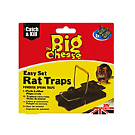 The Big Cheese Rat trap, Pack of 2