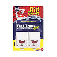 The Big Cheese Ultra power Rat trap, Pack of 2