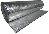 ThermAll Bubble insulation roll, (L)7.5m (W)0.6m (T)4mm