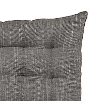 Tiga Black Woven Seat pad