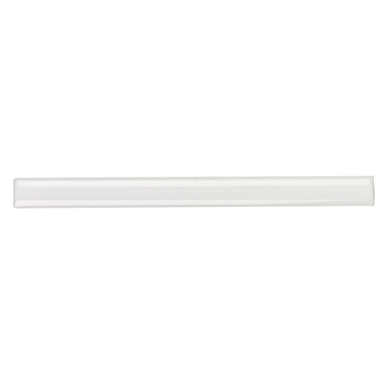 tile gallery white ceramic pencil round tiling trim