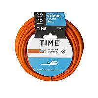 Time 3182Y Orange 2 core Multi-core cable 10m