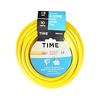 Time 3183YAG Yellow 3 core Multi-core cable 1.5mm² x 10m