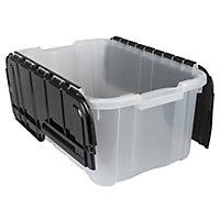 Tontarelli Medium duty White 14.5L Polypropylene (PP) Stackable Nestable Storage box
