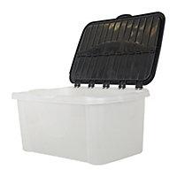 Tontarelli Medium duty White 40L Polypropylene (PP) Stackable Nestable Storage box
