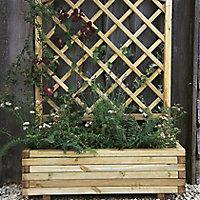 Toulouse Wooden Rectangular Planter 100cm