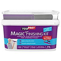 Toupret Fine finish Ready mixed Finishing plaster, 6kg Tub