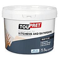 Toupret Tiled Surface Ready mixed Finishing plaster, 5kg Tub